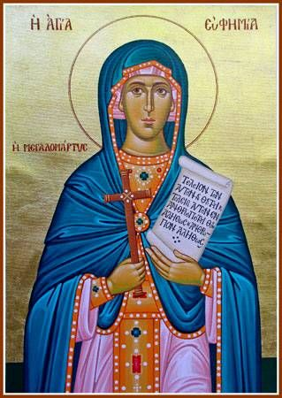 American Carpatho-Russian Orthodox Diocese of North America | Great Martyr  Euphemia the All-Praised