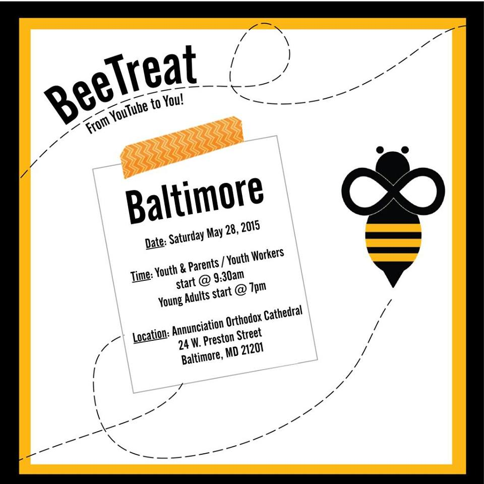 PAN-ORTHODOX BEE TREAT: Baltimore, MD @ Greek Orthodox Cathedral of the Annunciation   | Baltimore | Maryland | United States